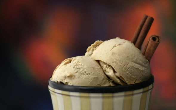 Ginger Snap Ice Cream Dessert. Photo and Recipe by Kristen Suzanne
