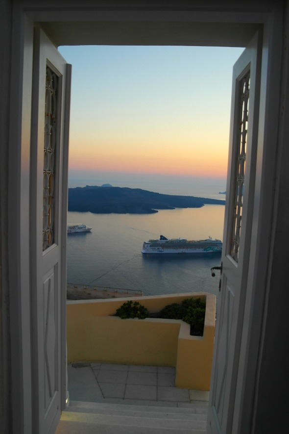 Oia, Santorini. Photo by Nick Lowe
