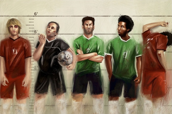 IdeaFixa Football magazine, 2010 by Victor Salciotti